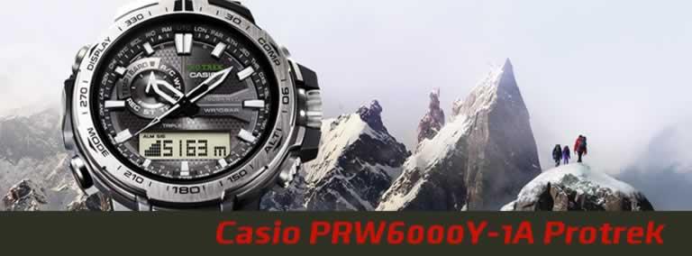 Reloj táctico Casio PRW6000Y-1A Protrek